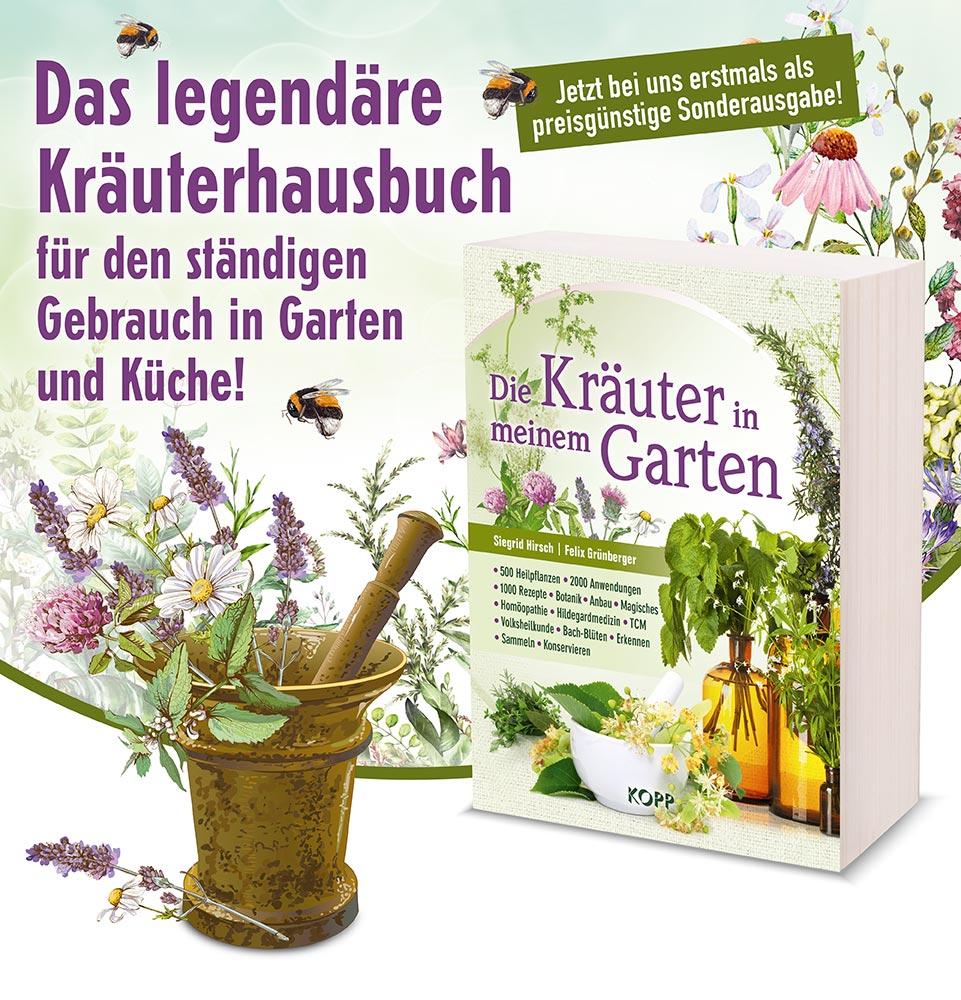 Die Kräuter In Meinem Garten Bücher Kopp Verlag